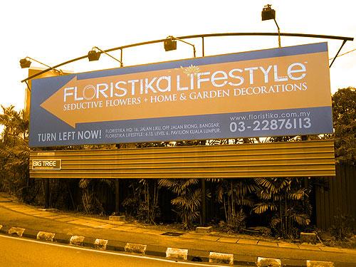 10x40 Billboard - Floristika
