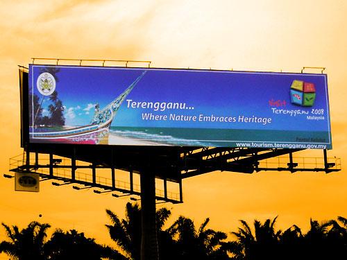 20x80 Unipole - Visit Terengganu Campaign