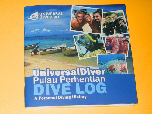 Dive Log Book Printing